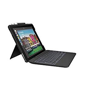 SLIM COMBO with detachable keyboard and Smart Connector for iPad Pro 10.5 inch-BLACK-UK-N/A-N/A-INTN