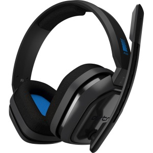 A10 Headset for PS4-GREY/BLUE-3.5 MM-N/A-WW
