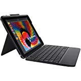 SLIM COMBO Case with Detachable Backlit Bluetooth Keyboard for iPad 5th & 6th generation-GRAPHITE-FR