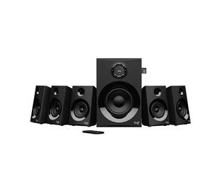 Z607 5.1 Surround Sound with Bluetooth-BLACK-BT-PLUGC-EU