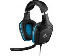 G432 7.1 Surround Sound Wired Gaming Headset-LEATHERETTE-USB-N/A-EMEA