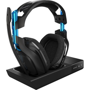 A50 Wireless Headset + Base Station for PS4-BLACK/BLUE-RF-N/A-WW