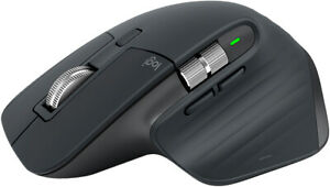 MX Master 3 Advanced Wireless Mouse-GRAPHITE-2.4GHZ/BT-N/A-EMEA-MR0077.
